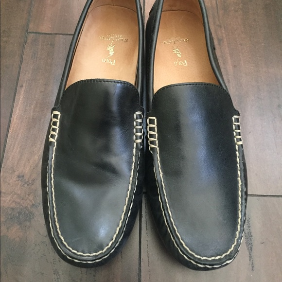 Ralph Lauren Woodley Leather Loafers